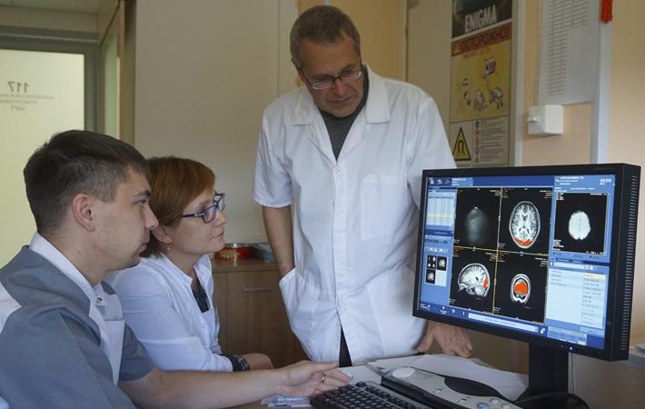Результаты нейровизуализации — разработка стратегии терапевтической стимуляции мозга. Фото предоставлено НИИФФМ